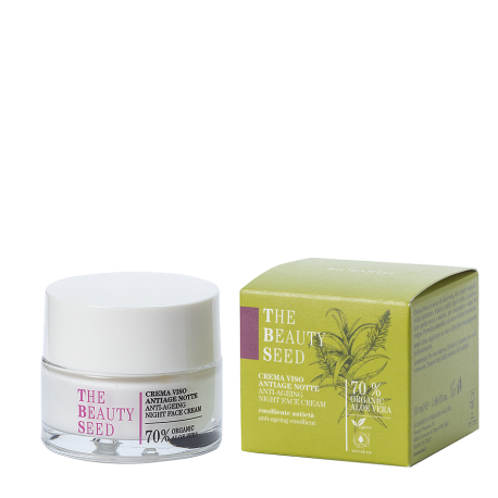 Crema Antiage Notte - The Beauty Seed - Bioearth