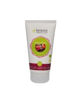 Natural Body Lotion - MELAGRANA e ROSA - Benecos