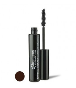 NATURAL MASCARA MAXIMUM VOLUME - SMOOTH BROWN - Benecos