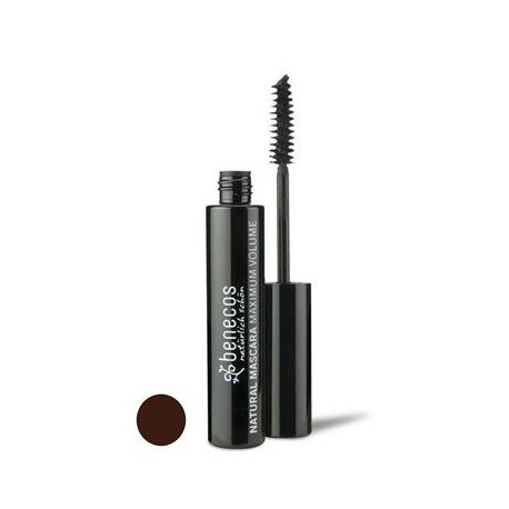 NATURAL MASCARA MAXIMUM VOLUME - SMOOTH BROWN