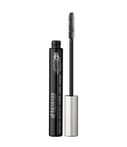 NATURAL MASCARA SUPER LONG LASHES - CARBON BLACK