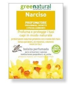 busta profuma biancheria NARCISO - Greenproject