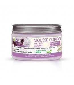 Mousse corpo levigante - MIRTILLO - Nacomi