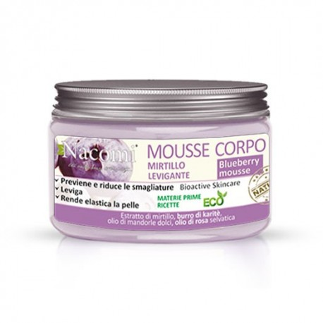Mousse corpo levigante - MIRTILLO