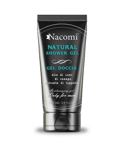 Natural shower gel uomo