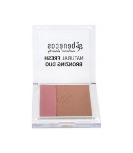 NATURAL BRONZING DUO Bronzer + Blush - IBIZA NIGHTS - Benecos