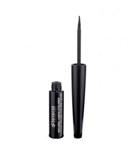 NATURAL LIQUID EYELINER BLACK - Benecos