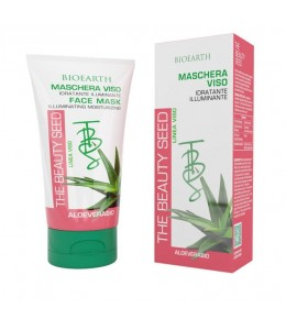 Maschera Viso Aloe - The Beauty Seed - Bioearth