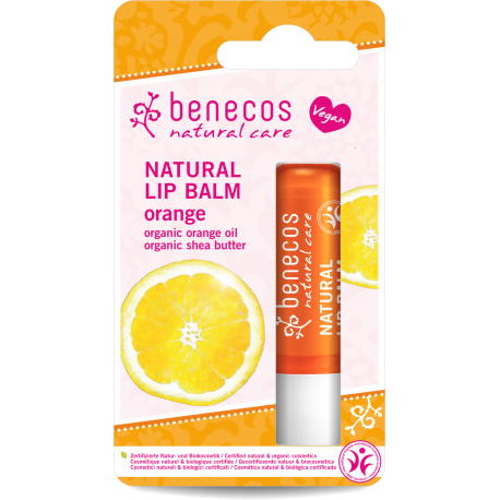 Natural Lip Balm - Orange - Burrocacao Arancio Benecos