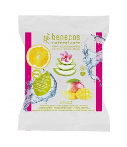 happy cleasing wipes - Salviette struccanti - Benecos
