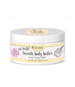 Smooth body butter -Sweet honey wafers - Nacomi