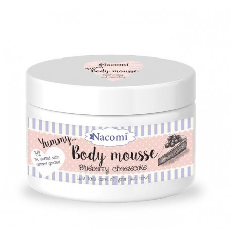 Body mousse - Bluesberry cheesecake - Nacomi