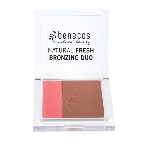 NATURAL BRONZING DUO Bronzer + Blush - CALIFORNIA NIGHTS - Benecos