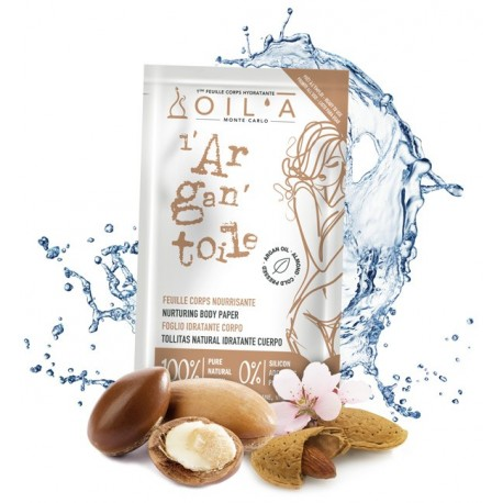 L'Argan'toile- Oil'à - Salvietta monouso pelli mature