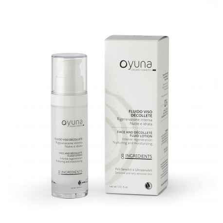 Fluido Viso Décolleté - 8ingredients - Oyuna