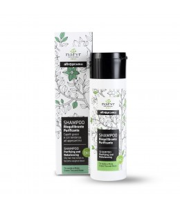 Shampoo riequilibrante purificante - The verde e Mate - Natyr