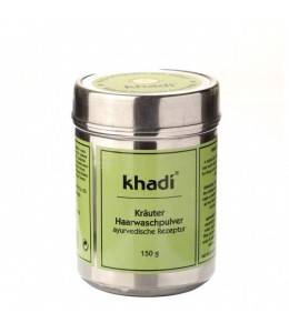 POLVERE LAVANTE PER CAPELLI (HERBAL HAIRWASH POWDER) - Khadi