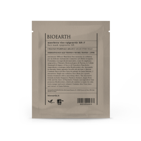 Maschera Epigenetic Lift monouso Bio in cellulosa - Bioearth