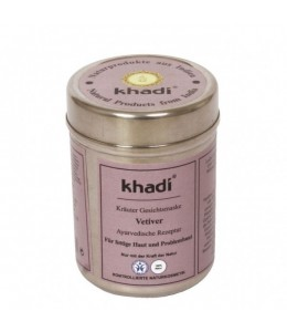 MASCHERA VISO VETIVER (HERBAL FACE PACK VETIVER) - Khadi
