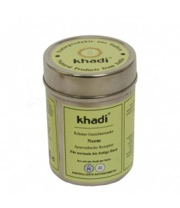 MASCHERA VISO NEEM (HERBAL FACE MASK NEEM) - Khadi