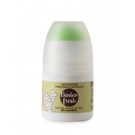 Biodeo Fresh - Deodorante roll on - La Saponaria