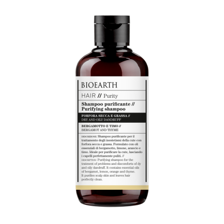 Shampoo Purificante antiforfora - Bioearth Hair