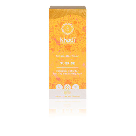 Tinta vegetale Biondo Sole (SUNRISE) - Khadi