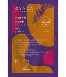 Patch Occhi illuminante - defatigante N.2 - Gyada Cosmetics
