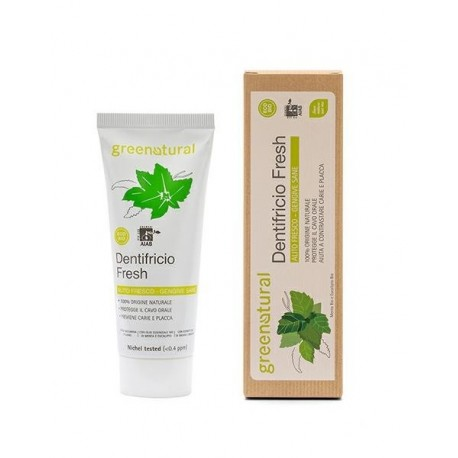 Dentifricio Fresh - Menta zenzero e Salvia - Greenproject