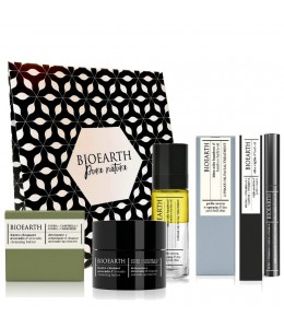 Purity Routine - Gift Set - Bioearth (Maschera purificante tubo + idraolio the verde + siero purificante mini)