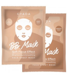 BB Sheet mask Soft Focus Effect - 2 Tonalità - Gyada Cosmetics