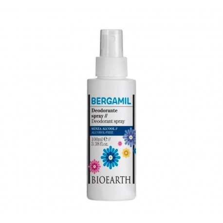 Deodorante spray Bergamil - Bioearth
