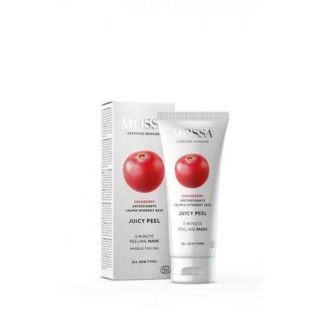 Juicy peel 5 minute peeling mask - Mossa
