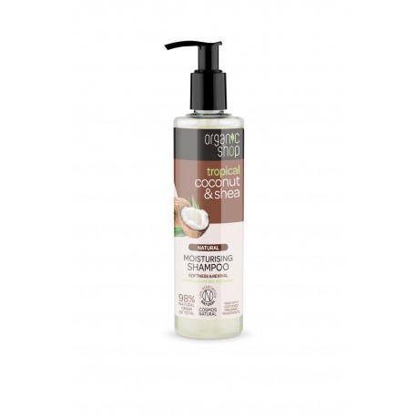 Tropical Coconut & Shea shampoo- Organic Shop