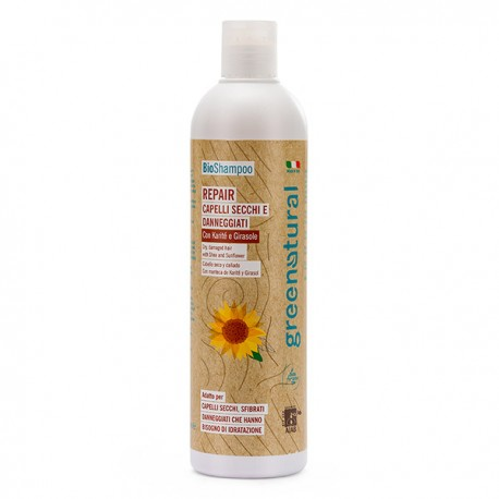 Bio Shampoo Repair - Capelli secchi - GreeNatural