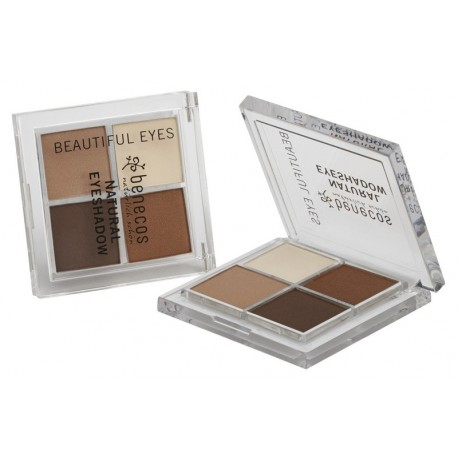 NATURAL QUATTRO EYESHADOW COFFEE & CREAM