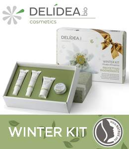 Prepara la tua pelle all'inverno con il Winter Kit Delidea